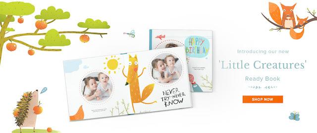 Photobook kini memperkenalkan LITTLE CREATURES ; the new baby book + promo awesome sepanjang Julai 2017