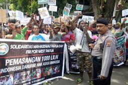 Polisi: Silahkan Tuntut Merdeka di Papua, Jangan disini...