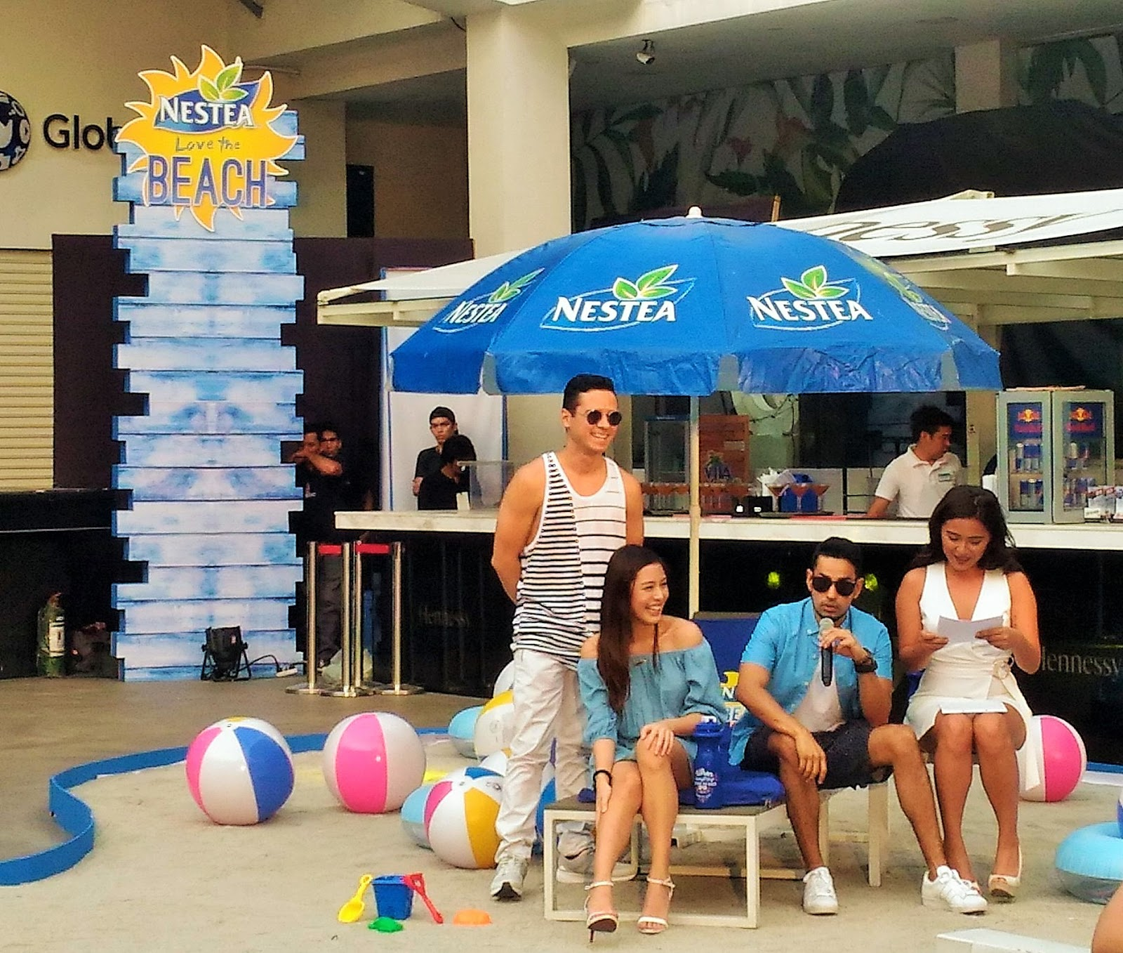 Nestea Chillax, bloggers event, Nestea Philippines, Palace Pool Club Manila