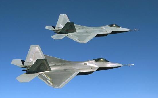 COOL IMAGES: F-22 Raptor Fighter Jet Wallpapers