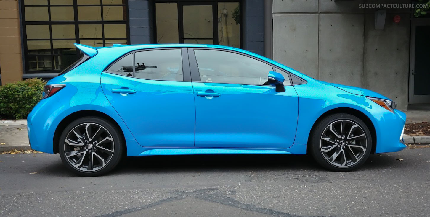 Review 2019 Toyota Corolla Hatchback Subcompact Culture The