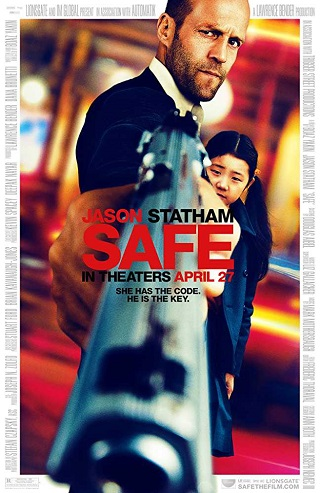 Safe 2012 Dual Audio Hindi 300MB BluRay 480p
