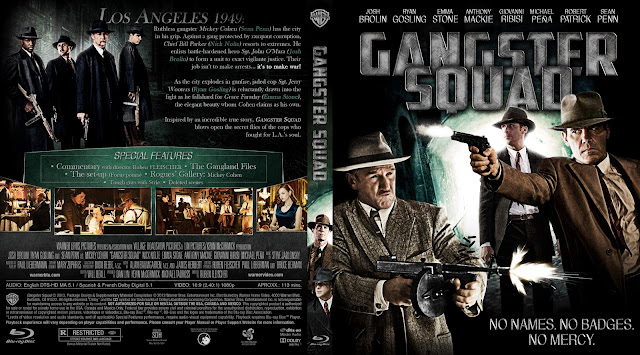 Capa Bluray Gangster Squad