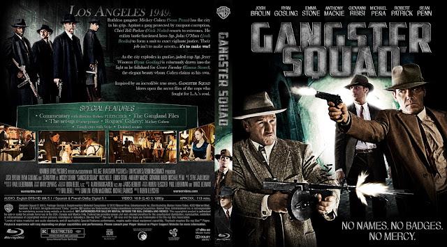 Capa Bluray Gangster Squad