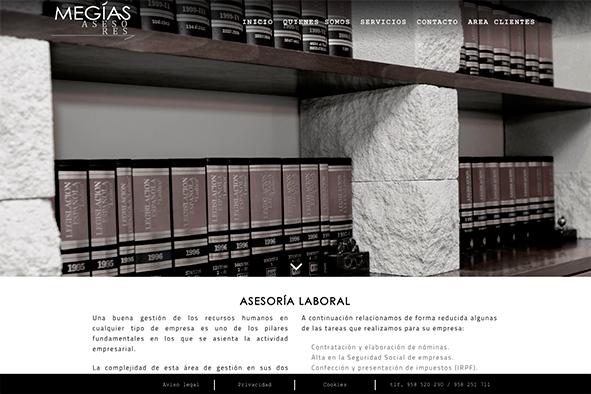 web asesoria megias