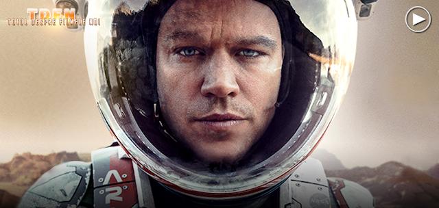 Matt Damon în rolul astronautului Mark Watney din primul trailer pentru The Martian