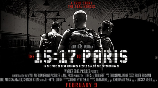 film februari 2018 The 15:17 to Paris