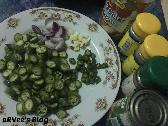 Spicy Okra ingredients