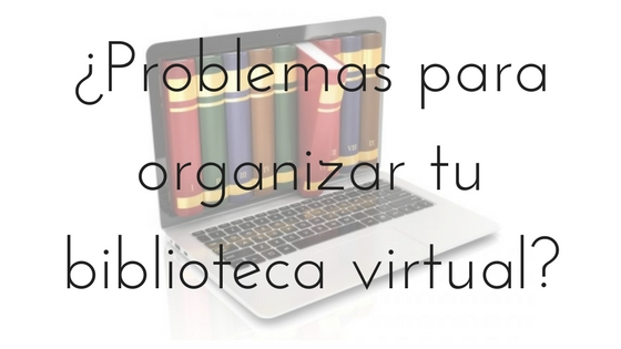 Organizar biblioteca romántica virtual_Apuntes literarios de novela romántica