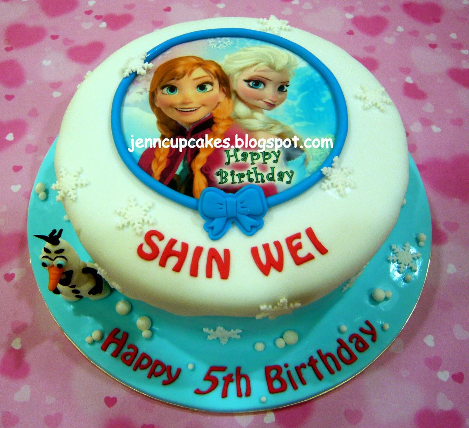 Festa Aniversario Disney Princess Cakes From Walmart Frozen Cupcakes