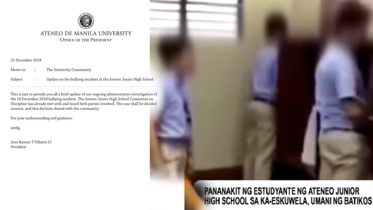Aksyon Agad Update Ng Ateneo De Manila University Kaugnay Sa Pambu