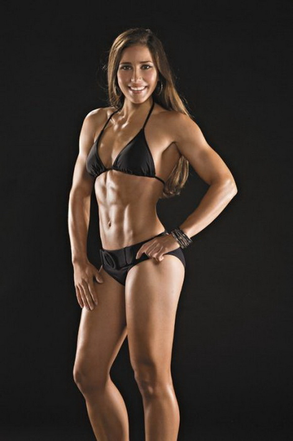 Women six pack abs nude