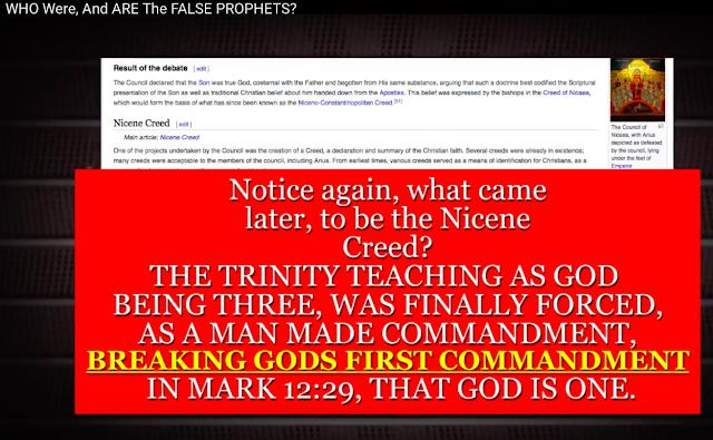 WHO Were, And ARE The FALSE PROPHETS? FALSE PROPHETS, FOLLOW FALSE PROPHETS.