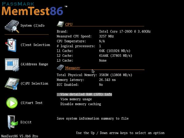 โหลด Memtest86 v7.5 [USB/ISO/] สุดยอดเครื่องมือตรวจสอบปัญหาแรม