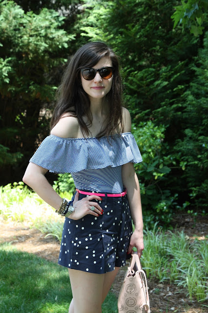 2017, summer, OOTD, patterns, J.Crew, girly