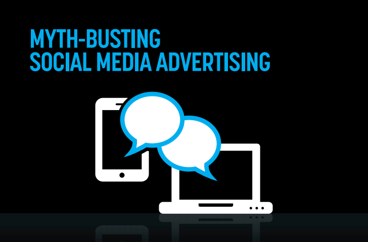 Myth-Busting #SocialMedia Advertising - #infographic