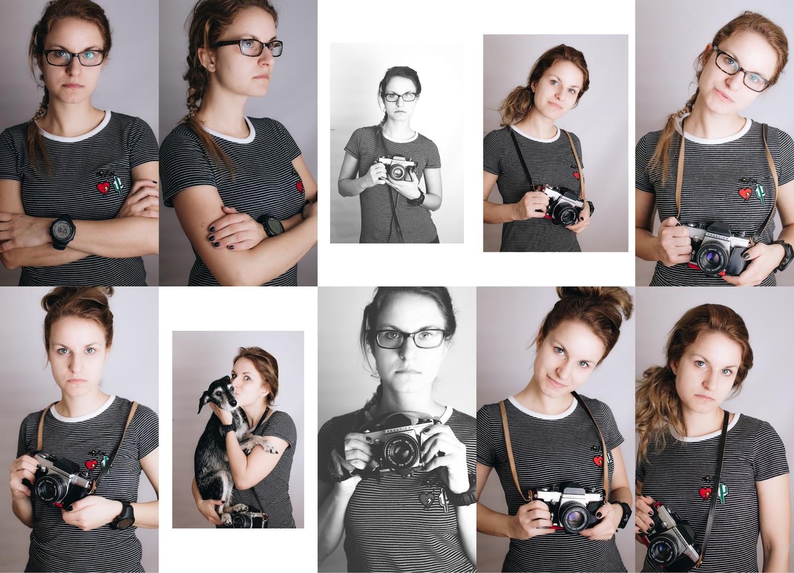 pani fotograf portret własny