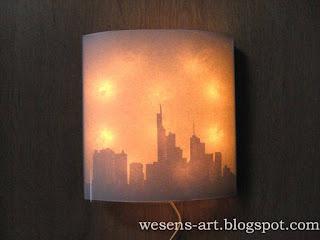 Lamp from Canvas 11     wesens-art.blogspot.com