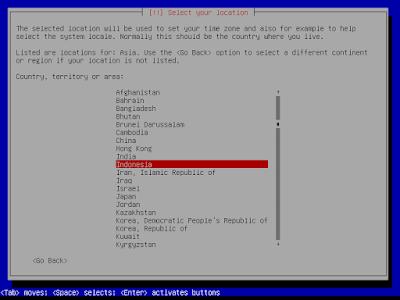Cara Instal linux Debian 2001