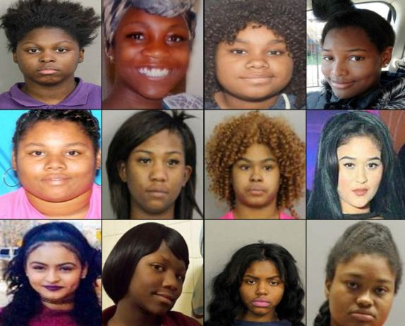 12 girls, 10 blacks and 2 Hispanics are missing and D.C police is saying there is no crime involved, that the girls are all runaways. Wonder if they would say that if they were all white...read the report after the cut...  From TMZ      The Washington D.C. girls who have gone missing are not crime victims ... they've just fled their homes, according to Washington D.C. officials.       There's been a call for an investigation into the disappearances, but a police spokesperson says the numbers are not alarming ... they're in line with missing persons stats.      There are currently 38 open cases of missing persons in D.C.  We did some checking ... 12 disappeared in the last 5 mon