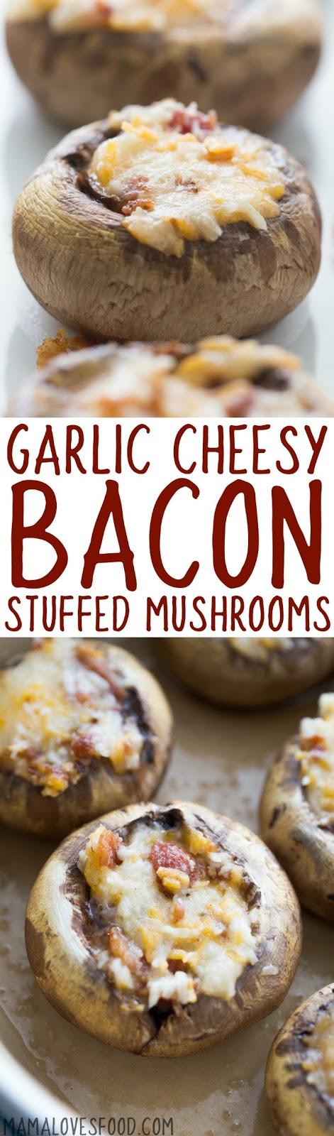 stuffed mushrooms recipe easy