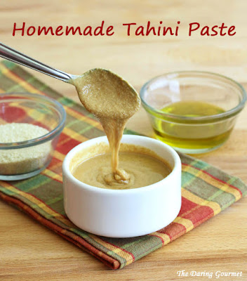 Really in the mood for some homemade hummus Homemade Tahini Paste Recipe