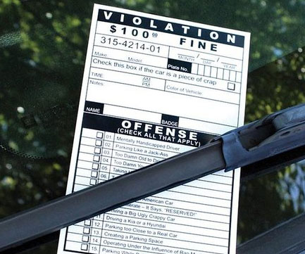 Give your fellow drivers a good scare by pranking them using these fake parking tickets. Printed on a thick, durable cardboard, each parking ticket is detailed enough to fool even the sharpest eyes when viewed from a distance.