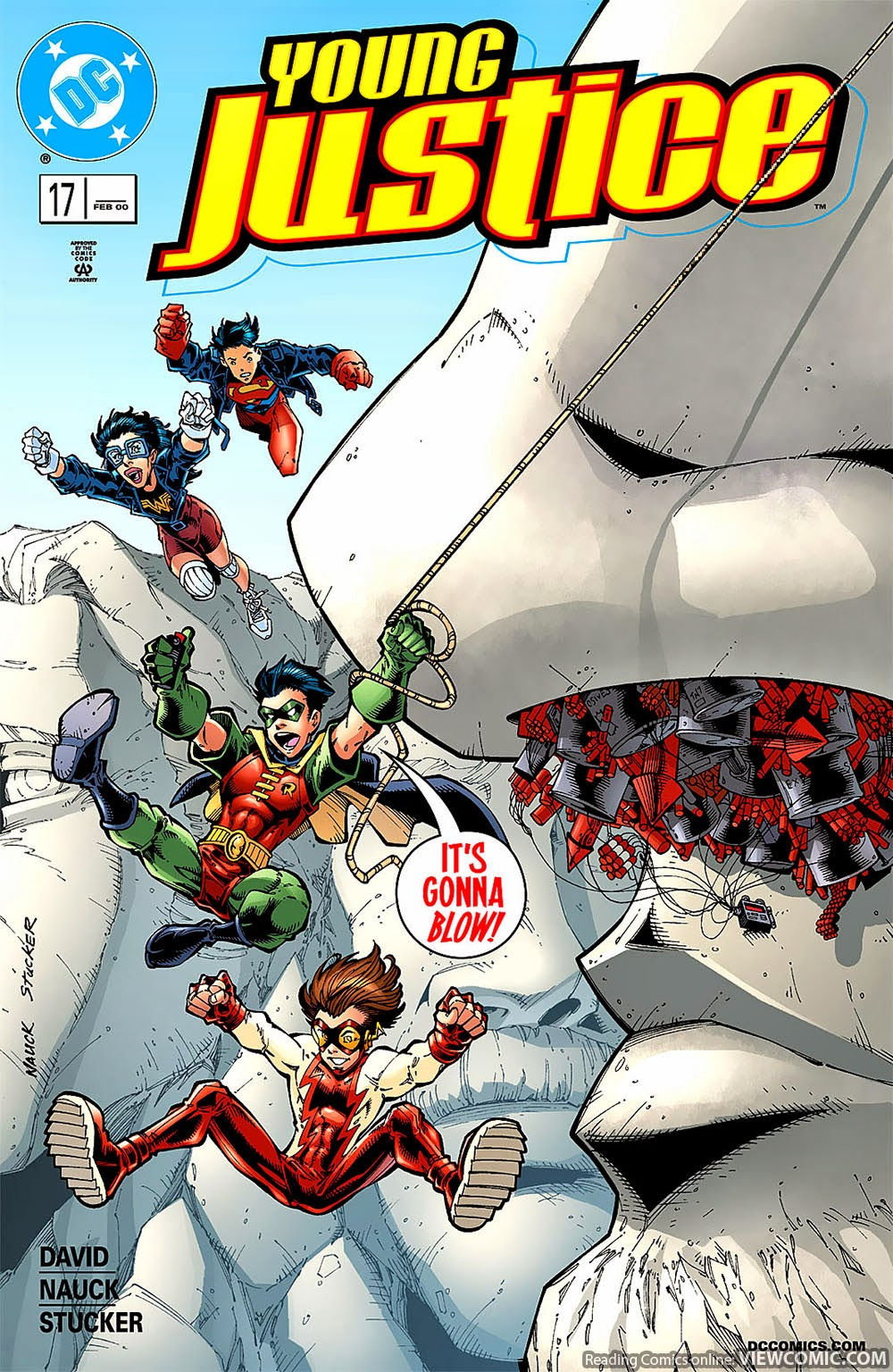 Young Justice 17 2000 Viewcomic Reading Comics Online For Free 2019