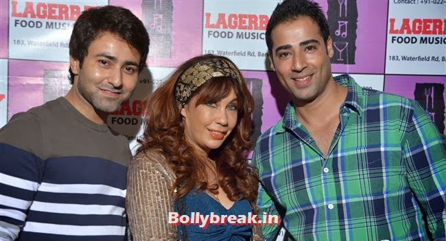 Krishna Bharadwaj, Vandana, Muzamil, Page 3 Celebs at Lagerbay New Menu Launch Party