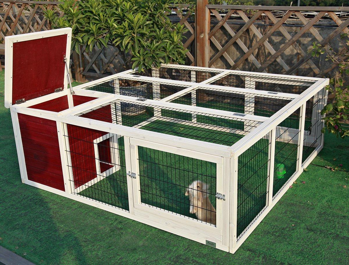 Rabbit Pet Lover Outdoor Rabbit Hutch Outdoor Chicken Coop