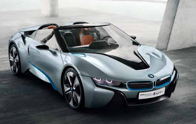 Pictures of Sports Car Concept BMW i8 Spyder Hybrid in 2016