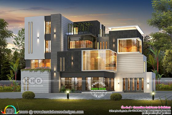 7 bedroom box model ultra modern home