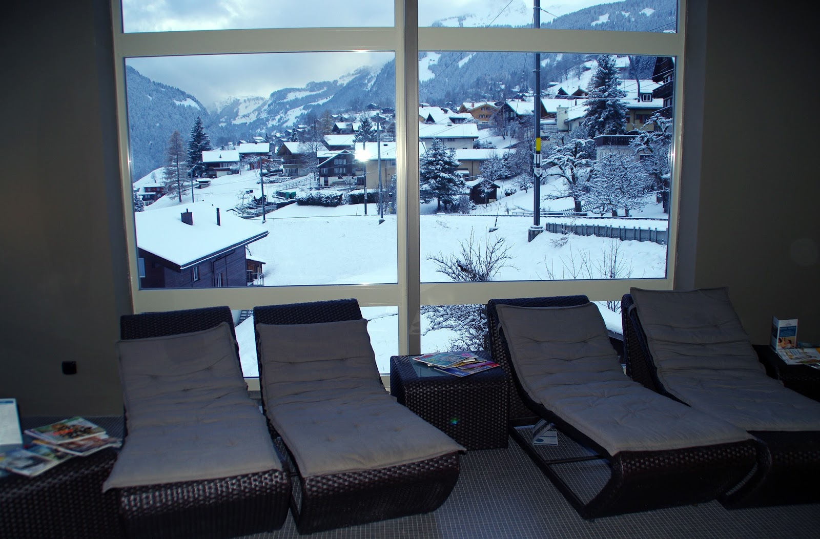 Hotel Belvedere Grindelwald Wellness Area