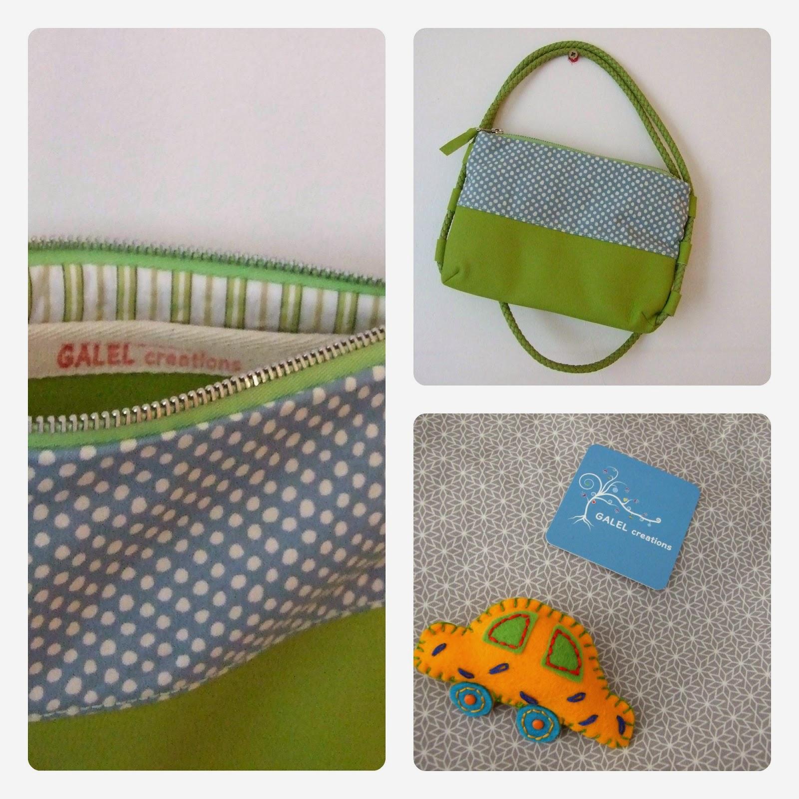 Handmade bag Galel creations La vie en DIY