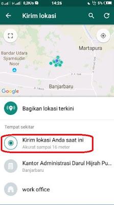 Cara Mengirim Lokasi GPS di Aplikasi WhatsApp