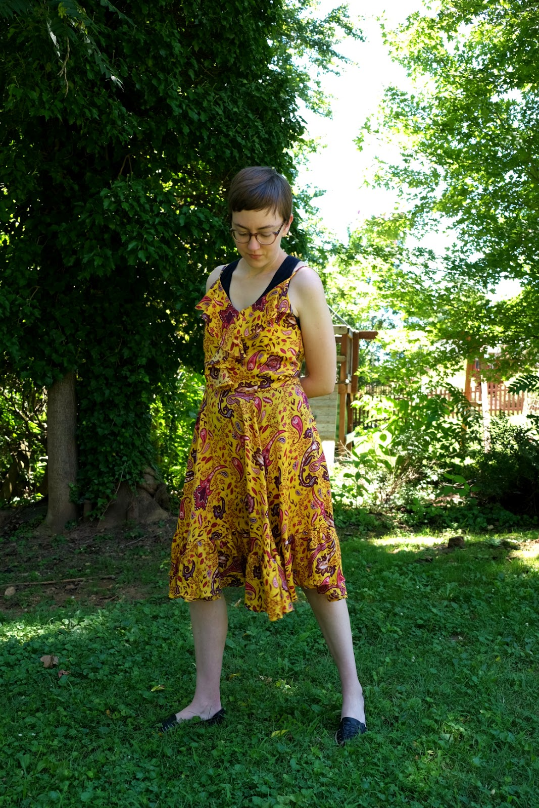 tamga designs dress ethical yellow dress stylewise-blog.com