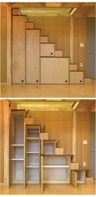 Ideas para ahorrar espacio debajo de la escalera mueble