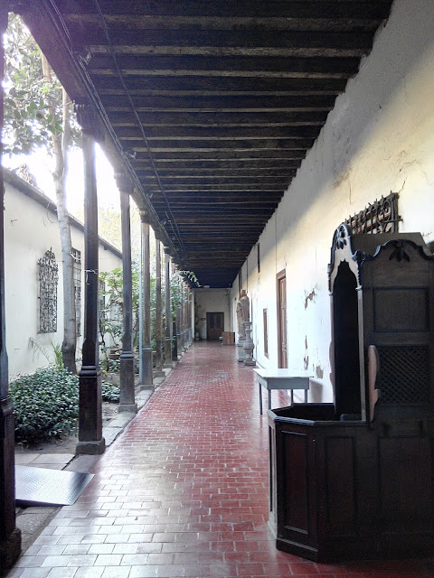 Museo Colonial Iglesia de san Francisco, Santiago, Chile