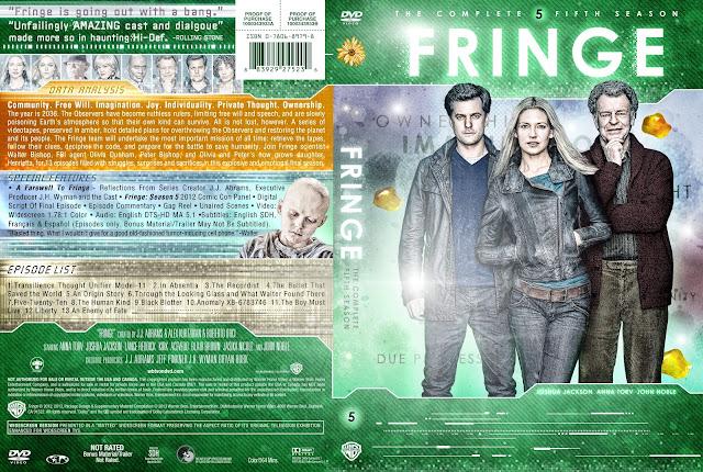 Fringe Season 5 DVD Cover