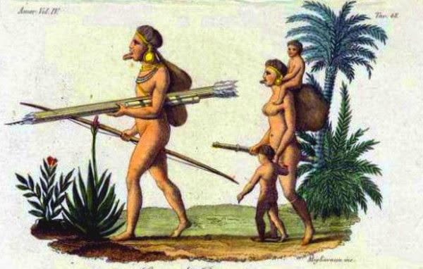 Botocudos Chief Brasil, penduduk pulau paskah, rapa nui