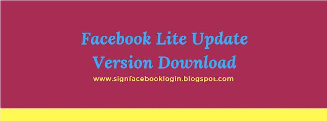 Facebook Lite Update Version Download