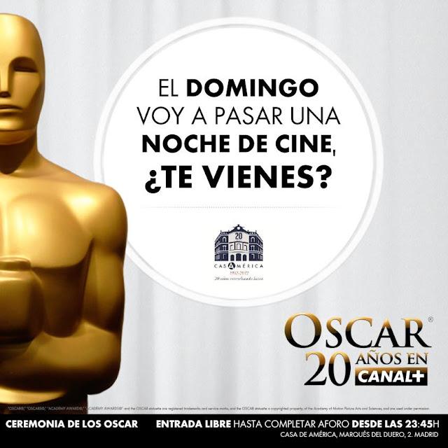Los Oscar 2013 en directo desde casa América