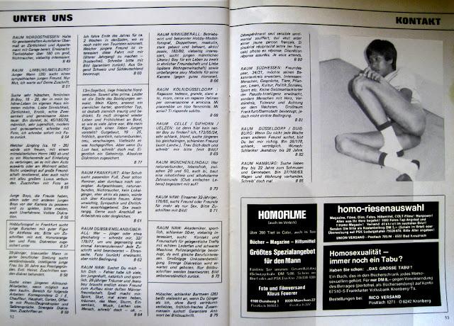 Gay History: 12 / 1978 ADAM - German Gay Magazine