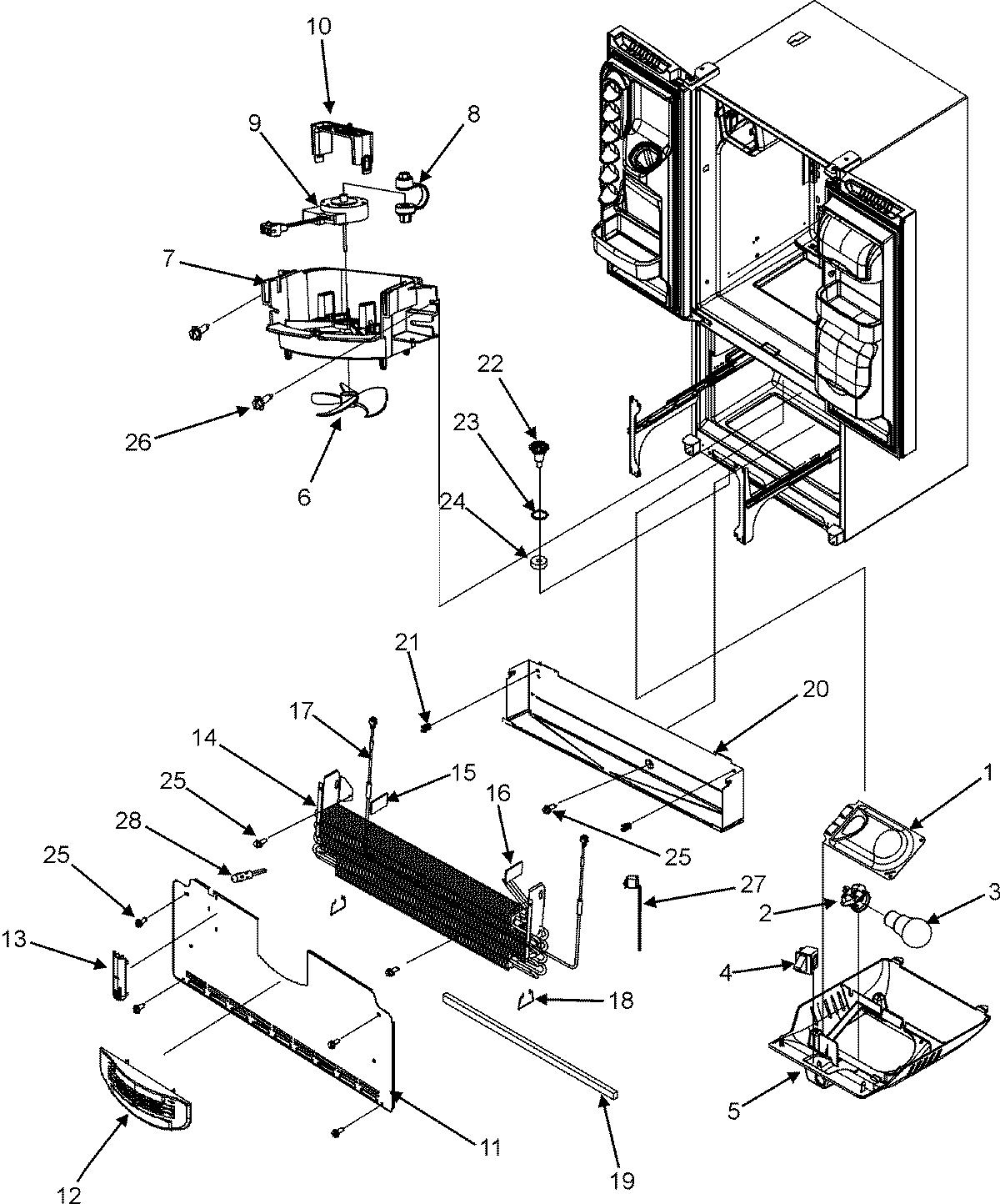 defrosting a maytag refrigerator [ 1200 x 1444 Pixel ]