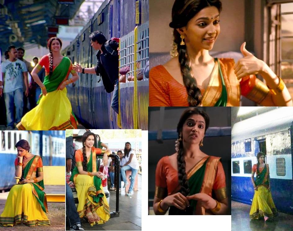 Curly Fries: BOLLYWOOD ISHTYLE: Deepika's Vibrant Sarees ...