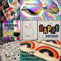 Blog With Friends, a multi-blogger project based post incorporating a theme, Rainbows | Featured on www.BakingInATornado.com