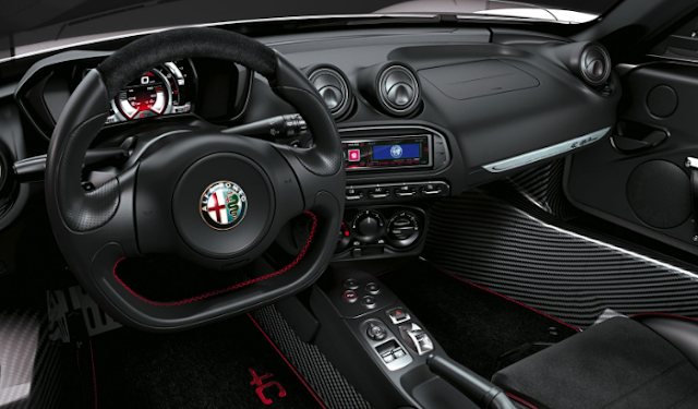 2015 Alfa Romeo 4C Coupe Review