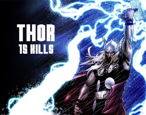 15 Superhéroes de Marvel que más asesinatos han perpetrado; no siempre han salvado vidas