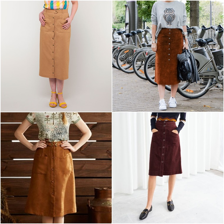 suede skirt inspirations
