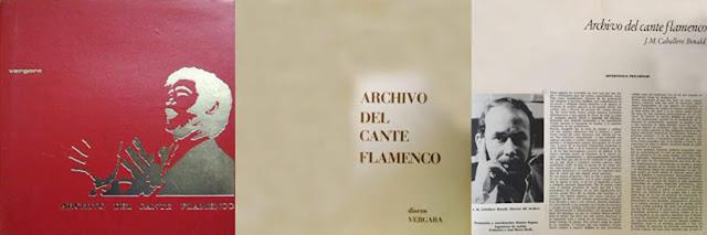 "JUAN TALEGA ""ARCHIVO DEL CANTE FLAMENCO"" (6LP) VERGARA"